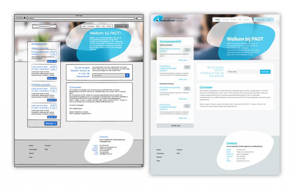 Homepage - Publiek
