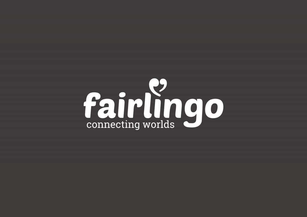 Fairlingo logo white on black