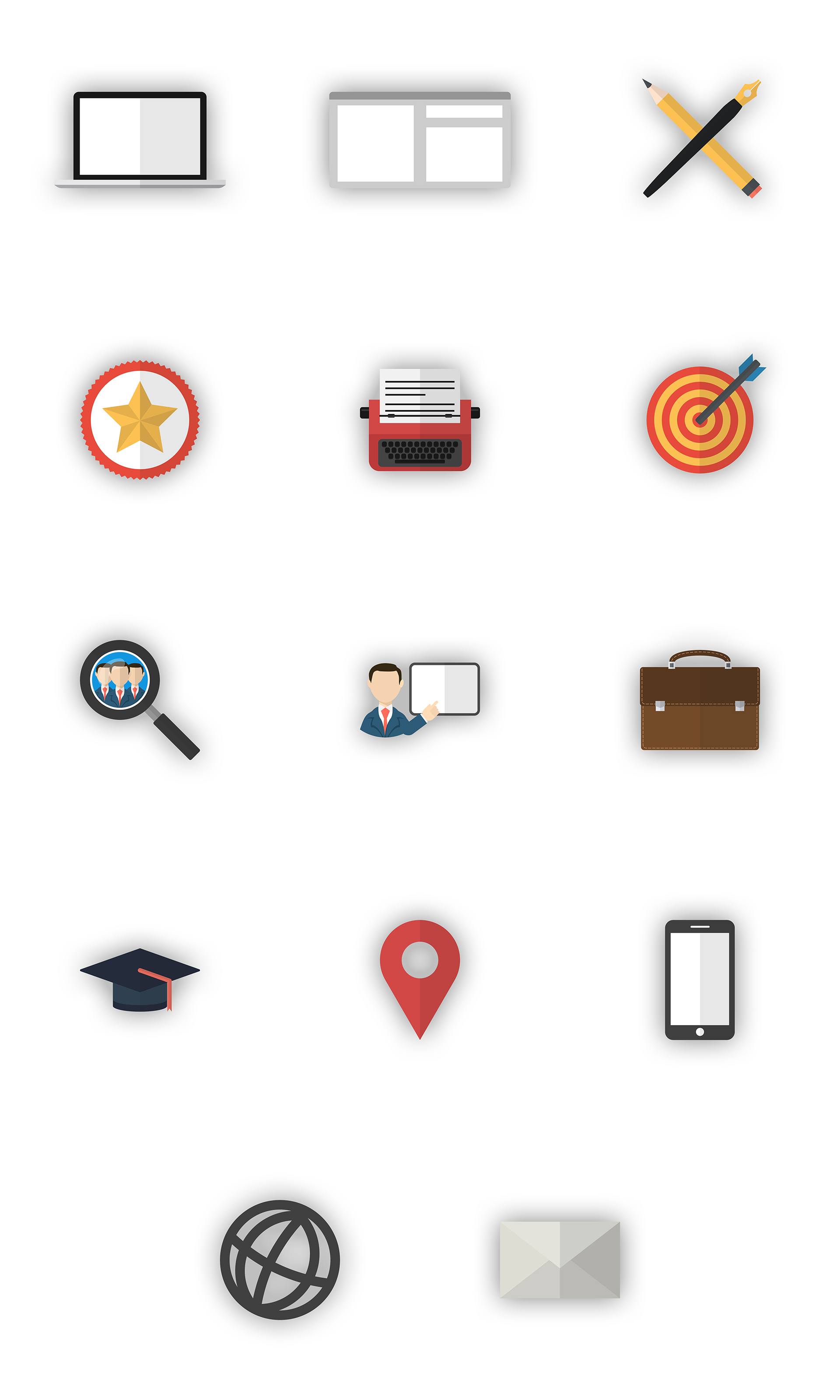 Alle icons